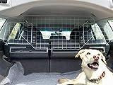 UKB4C Dog Guard Universal Car Headrest Travel Mesh Grill Pet Safety Barrier Adjustable Rear Boot Seat