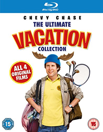 National Lampoon's Vacation Collection [Chevy Chase] [Blu-ray] [2013] [Region Free]