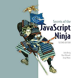 Secrets of the JavaScript Ninja audiobook cover art
