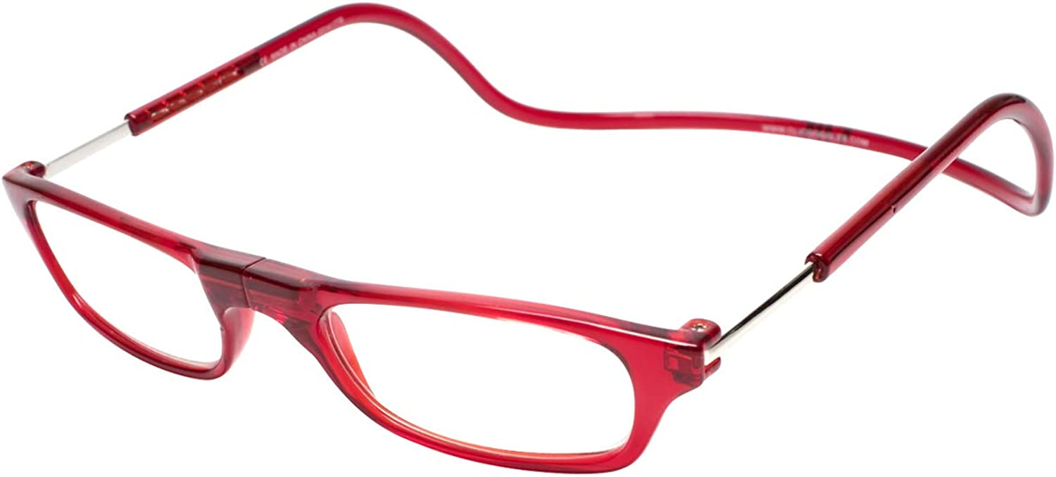 store Clic Readers Reading Glasses +3.00 Super Special SALE held Red RED -