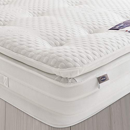 Silentnight 2000 Pocket Gel Pillowtop Mattress | Medium Soft | Double