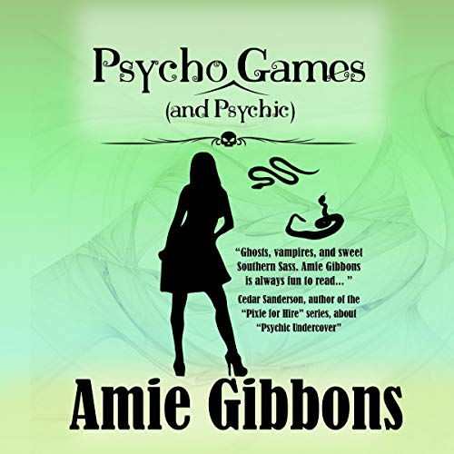 Psycho (and Psychic) Games audiobook cover art