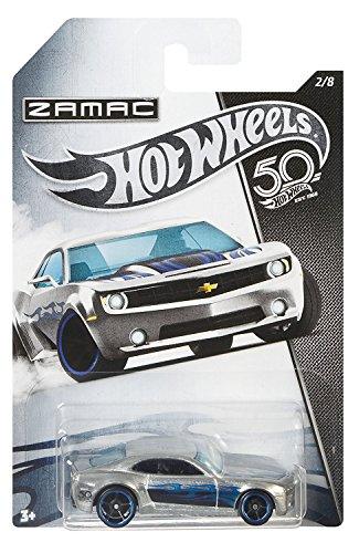 HW Hotwheels 50th Anniversary ZAMAC FRN25 – Chevy Camaro Concept 2/8