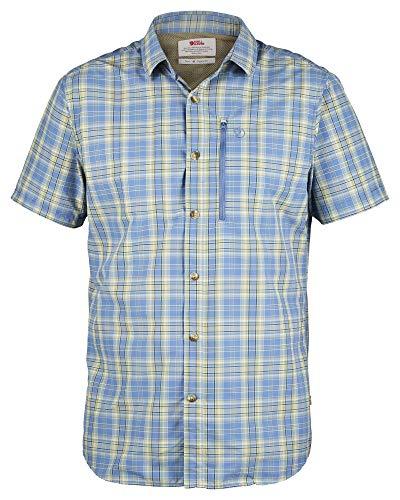Fjallraven Abisko Hike Shirt SS, Blue Ridge, XL Mens