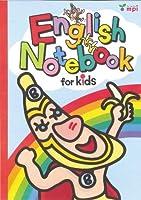 English Notebook for kids(バナくん)