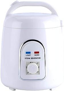 【𝐍𝐞𝒘 𝐘𝐞𝐚𝐫𝐬 𝐆𝐢𝐟𝐭𝐬】110 / 220V 1.8L 900W蒸気の家の発電機の携帯用蒸気のサウナのための汽船の鍋の鉱泉(110V U.S. regulation)