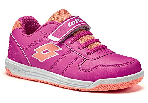 LOTTO S9485 SC JR SET ACE XI PS ROSA/ARANCIO,34