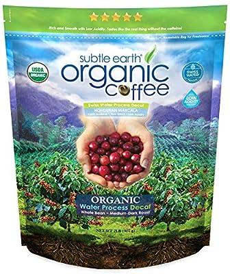 Cafe Don Pablo 2LB Subtle Earth Organic Swiss Water Process Decaf - Medium-Dark Roast - Whole Bean Coffee USDA Certified Organic,2 Pound by CafeDonPablo1231