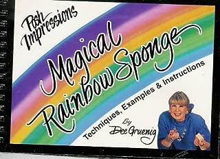 Magical Rainbow Sponge