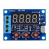 Jadpes Tester Batteria, Micro USB 18650 Lium Blei-Säure-Batterie Kapazität Meter Tester per Test per AA AAA C D 9 V CR2032 CR123A CR2 CRV3 2CR5 CRP2