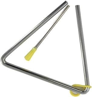 VICSPORT Triángulo musical, instrumento de percusión con batidor