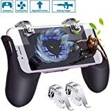 HEYSTOP PUBG Mobile Game Controller[Neuestes Upgrade], Tragbares Gamepad mit Lüfter and Detachable...