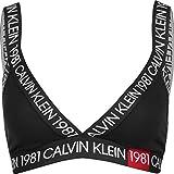 Calvin Klein 000QF5447E Unlined Bralette Top E Body Donna Black M...