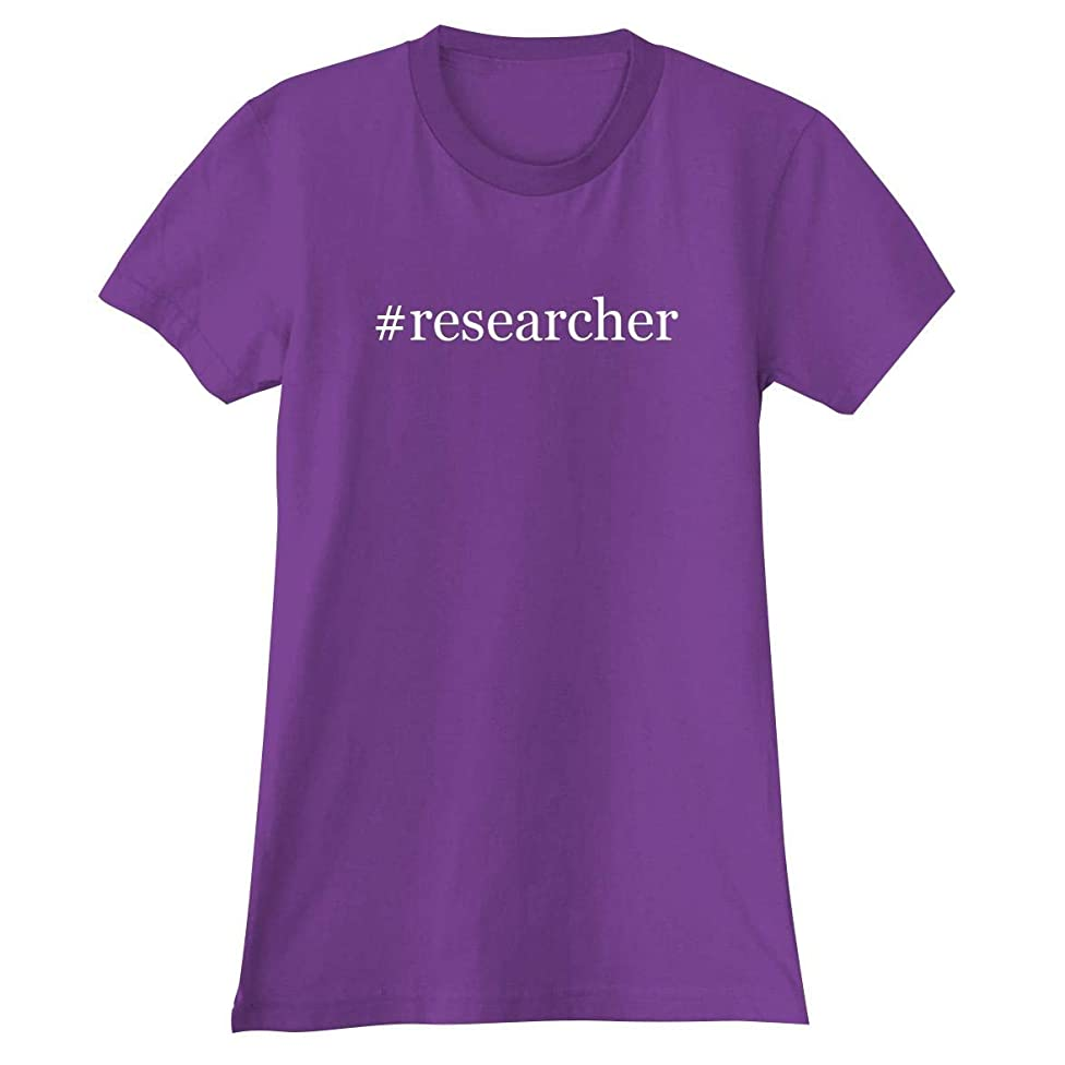 The Town Butler #Researcher - A Soft & Comfortable Hashtag Women's Junior Cut T-Shirt