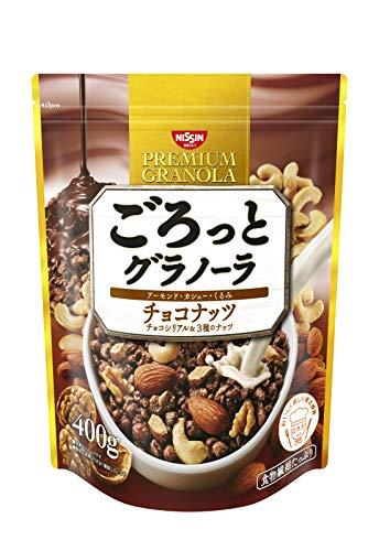 スマートマットライト 日清シスコ ごろっとグラノーラ チョコナッツ 400g×6袋