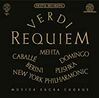 Verdi: Requiem by CABALLE / DOMINGO / NEW YORK PHIL / MEHTA (2013-04-30)