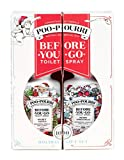 Poo Pourri Before-You-Go Toilet Spray Holiday Pull Apart Gift Set, Merry Spritzmas & Secret Santa Scents, Two 2 oz Bottles