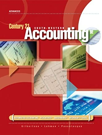 Working Papers, Chapters 1-10 for Gilbertson/Lehman/Passalacqua/Ross Century 21 Accounting: Advanced, 9th by Claudia Bienias Gilbertson (2008-04-07)