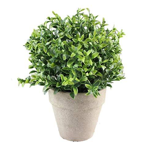 WUHUAROU Pflanze Künstliche Kunstliche Pflanzen Mini Kunstpflanzen Gefälschte Künstliche wie Echt Lavendel Blumen Pflanze Kleine mit Topf für Balkon Garten Balkon Deko Tischdeko Geschenk