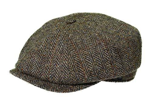 Balke Mütze Harris Tweed Heringbone, Farbe:Terra, Größe:56