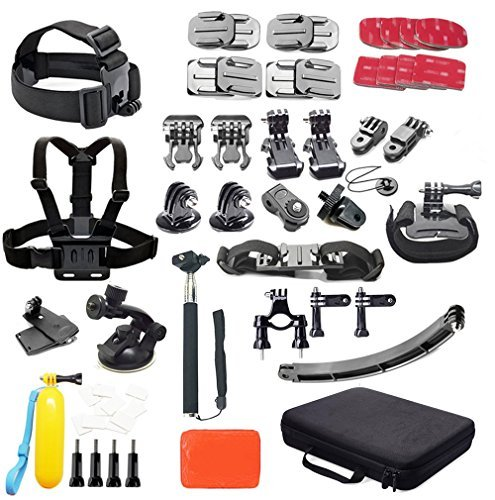 All Accessory Bundle Kit for GoPro Hero 4, 3, 2, 1 Camera and Action Cameras