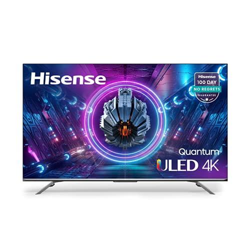 Hisense ULED Premium 65-Inch U7G Quantum Dot QLED Series Android 4K Smart TV with Alexa Compatibility (65U7G, 2021 Model)
