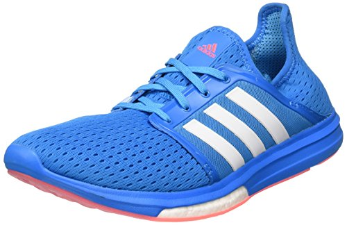adidas NEU CC Sonic Boost Size 10 Damen Laufschuhe Blau