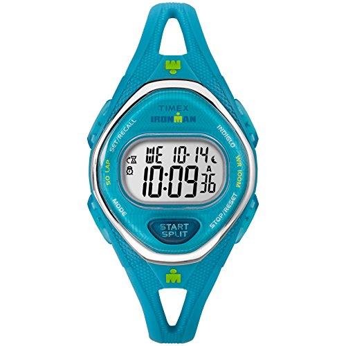 Timex - Reloj Ironman Sleek 50, tamaño mediano, correa de silicona