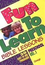 Fun-To-Learn Bible Lessons: Preschool