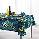 TIENDA EURASIA® Manteles Antimanchas - Diseños Tropicales Originales - Mantel Rectangular 150 x 240 cm - 100% Polyester Lavable (B, 150 x 240 cm)
