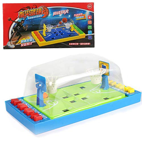 Topaty Desktop Mini Basketball Game Toys,Table Game Finger Basketball Board Game, 2-Player Basketball Shooting Game for Children Adults, Best Birthday Gift