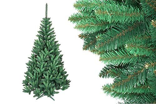 HOME 4U Albero di Natale Artificiale, Abete Rosso, 160 cm