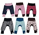 MyLeeni, Pumphose'Monkey Pants' Sterne, Totenkopf, Hasen, Gr. 50, rosa, blau, grau, rot, Mädchen, Junge