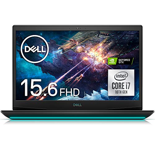 DellゲーミングノートパソコンDellG5155500ブラックWin10/15.6FHD/Corei7-10750H/16GB/512GBSSD/GTX1660TiNG585A-ANLB