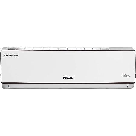Voltas 1.4 Ton 5 Star Inverter Adjustable Split AC (Copper, 2021 175V ADJ, White)