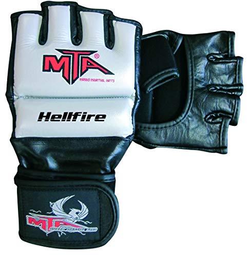 Montana Hellfire Gants MMA - Taille XL Mixte Adulte, Argent