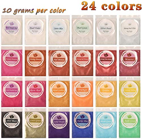 Set de 50 pigmentos de colores