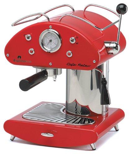 Espressione Café Retro Espresso Machine, Red