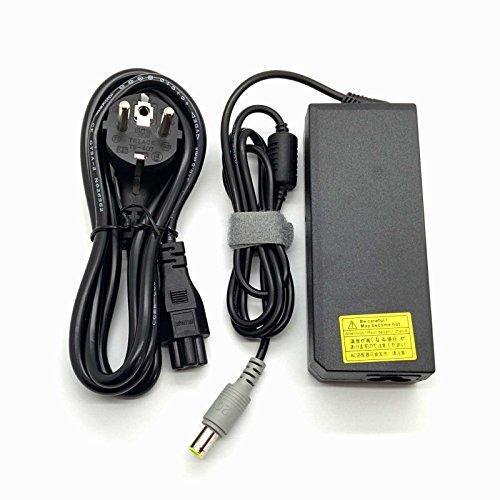 Adaptador Cargador Nuevo Compatible para portátiles Lenovo ThinkPad R Series y ThinkPal T Series del listado 20V 4,75a o Inferior con Punta Redonda y Pin Central de 8,0 mm x 7,4 mm