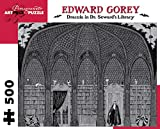 Dracula in Dr. Sewards Library 500-Piece Jigsaw Puzzle (Pomegranate Artpiece Puzzle)