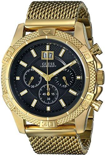U0205G1 U0205G1 Herenhorloge, 24 mm, chroomgraph, goud, roestvrij staal, armband en horloge