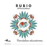 Mandala educativo +4 años: 2 (Mandalas Educativos RUBIO)