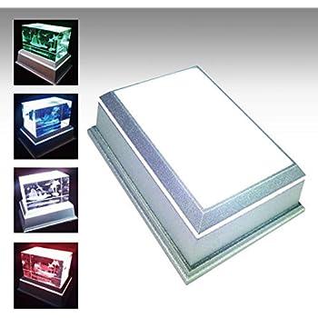 LEDライトステージ ハーバリウムライト ACアダプターセット 107x36mm 単色モード搭載 NKLS-46SL+AL-052UK