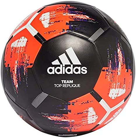 acoso En general Saca la aseguranza  adidas Team Top Replique Soccer Ball: Sports & Outdoors - Amazon.com