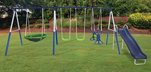 XDP Recreation New All Star Playground Metal Swing Set