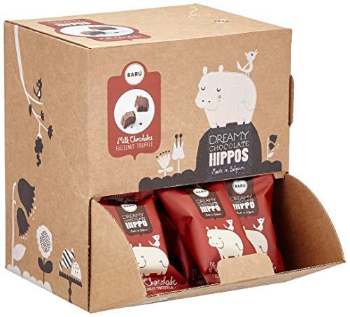 Barú Milk Chocolate Hippos Hazelnut Truffle Flowpack, 1er Pack (1 x 510 g)