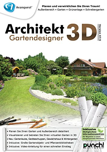 Architekt 3D X7.5 Gartendesigner [PC Download]