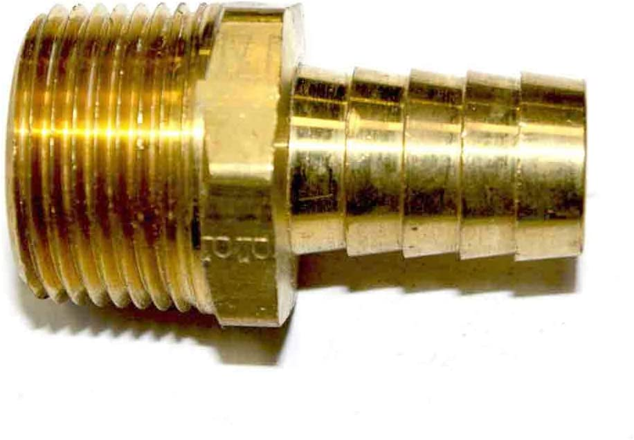 Interstate Pneumatics FM98 Brass Hose Barb 1 年末年始大決算 Fitting 公式ショップ Connector
