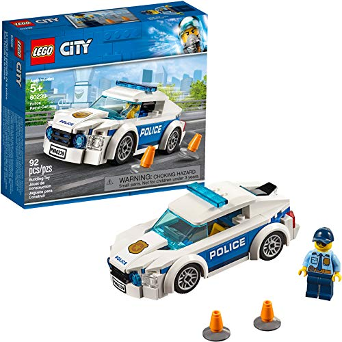 LEGO City Police Patrol Car Building Kit Now $5.99