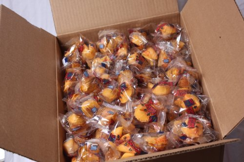 Fortune Cookies Fresh Single Wrap 400 Pcs (1 Box)At D&J Asian Market